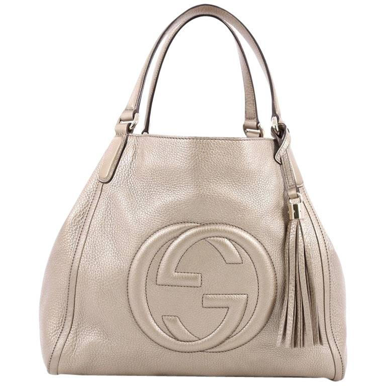 Gucci Soho Shoulder Bag Leather Medium at 1stdibs fd2afcb955a