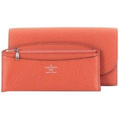 Louis Vuitton Vivienne LV Wallet Taurillon Leather Long