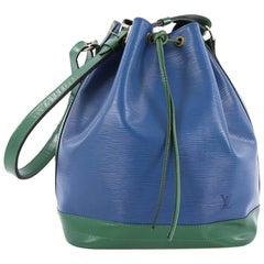 Louis Vuitton Bicolor Noe Handbag Epi Leather Large