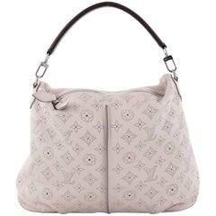 Louis Vuitton Selene Handbag Mahina Leather PM