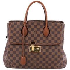 Louis Vuitton Ascot Handbag Damier
