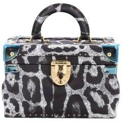 Louis Vuitton City Trunk Bag Wild Animal Print Canvas PM