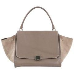 Celine Trapeze Handbag Leather Large  Item Number: 21936/01 SHIPPING & RE