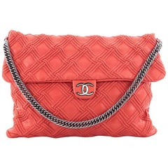 Chanel Walk of Fame Bag Quilted Leather Large