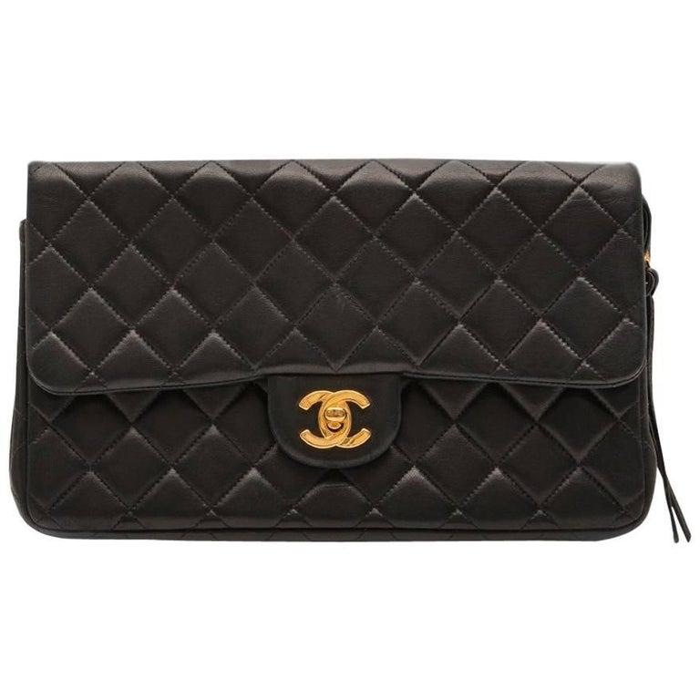 Chanel Black 2.55 Backpack For Sale