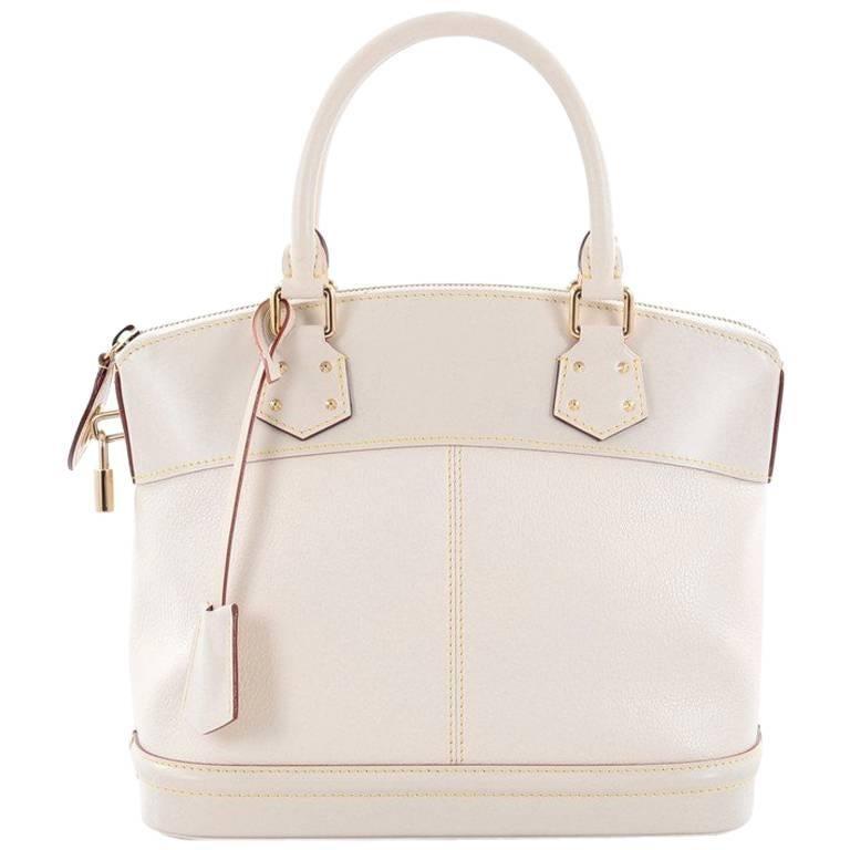 8413d3a206fe Louis Vuitton Suhali Lockit Handbag Leather PM at 1stdibs