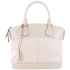 Louis Vuitton Suhali Lockit Handbag Leather PM