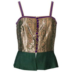 Regamus London Lame Bodice