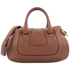 Chloe Hayley Satchel Leather Medium