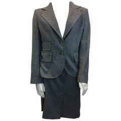 Dolce & Gabanna Tweed Skirt Suit