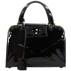 Saint Laurent Uptown Handbag Patent Small