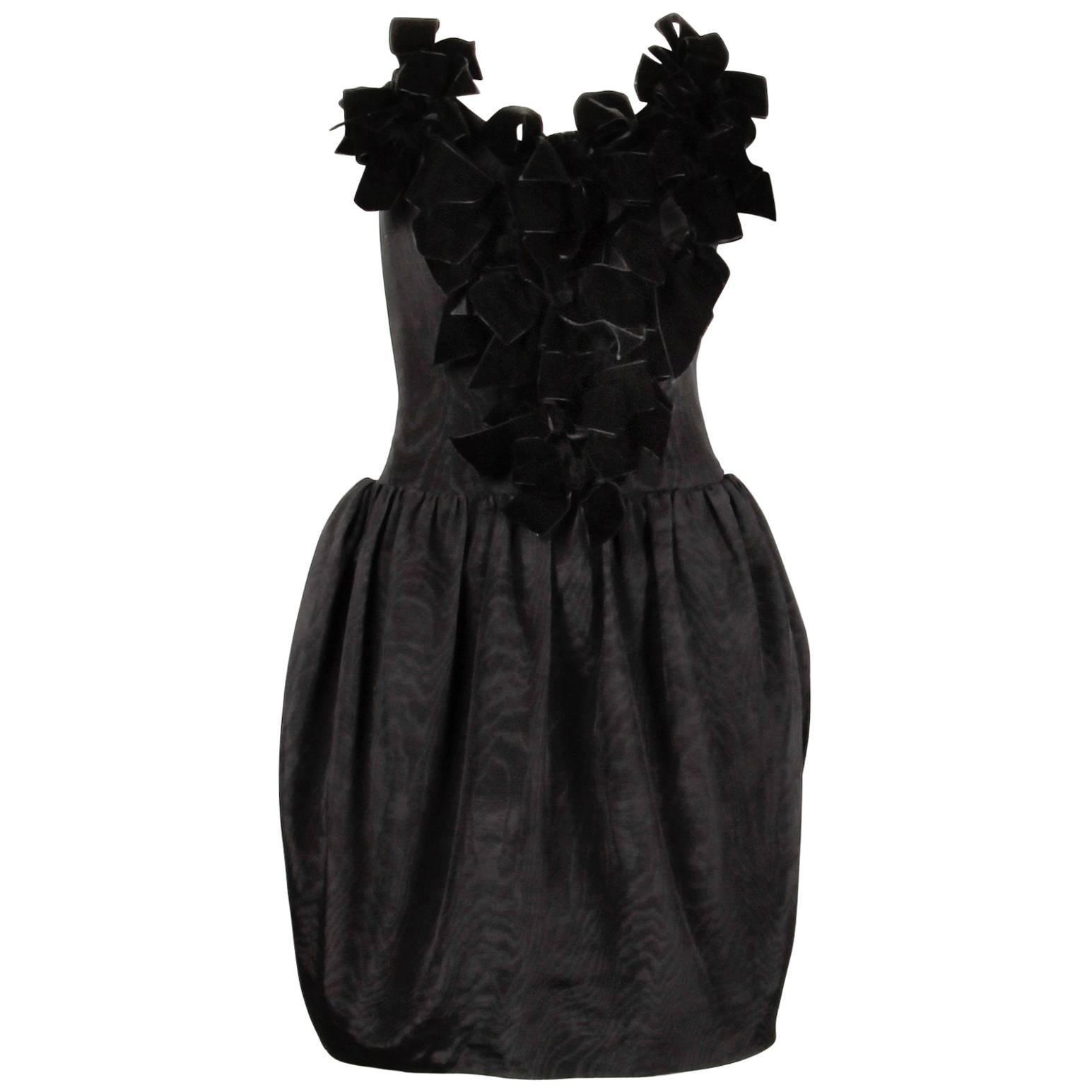 1980s Cocktail Dress