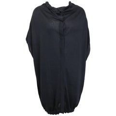 Jil Sander by Raf Simons Cashmere and Silk Sleeveless Oversize Top