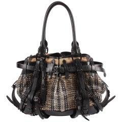 Burberry Prorsum 'The Studded Bag' - beige/black