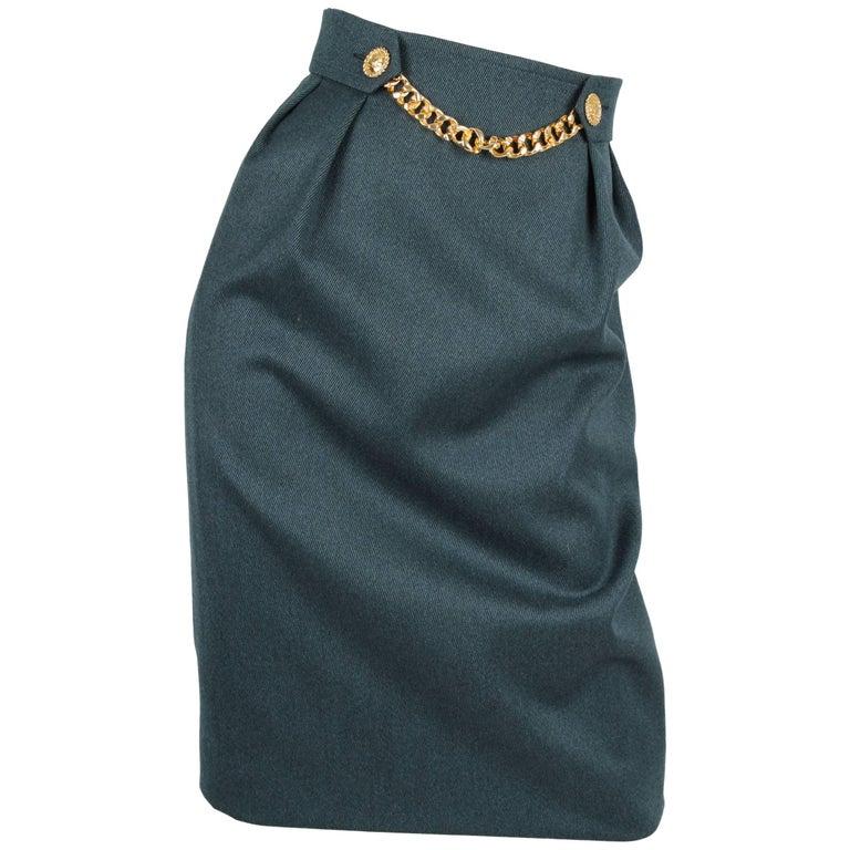 Celine Skirt - dark green