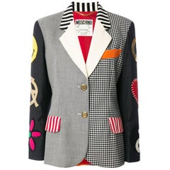 Moschino Couture Multico Patches Blazer