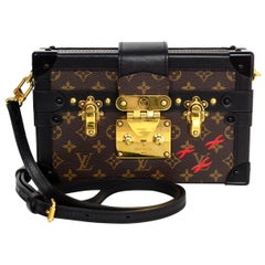 Louis Vuitton Monogram Petite Malle Trunk Crossbody Bag