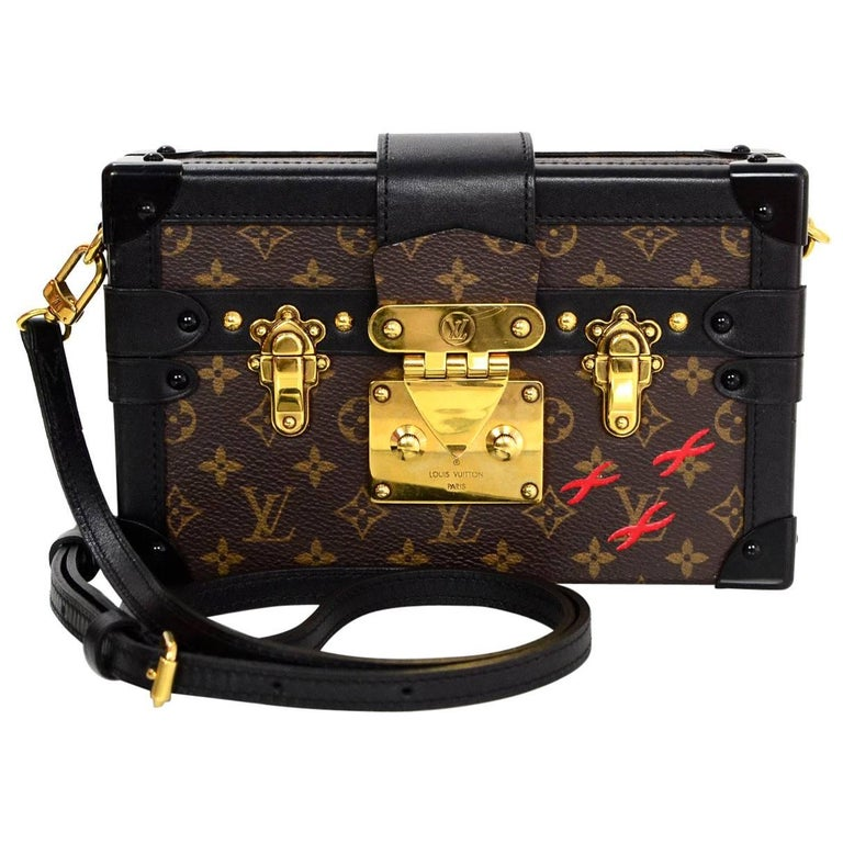 Louis Vuitton Monogram Petite Malle Trunk Crossbody Bag 1