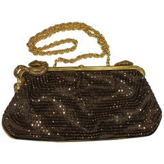 STUNNING Embellished Roberto Cavalli Clutch Evening bag / Limited Edition