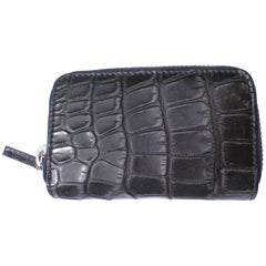 GUCCI Black Alligator Card case Rétail Price $1400 / Brand NEW