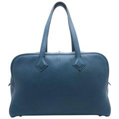 Hermes Victoria II Colvert Taurillon Clemence Leather Shoulder Bag