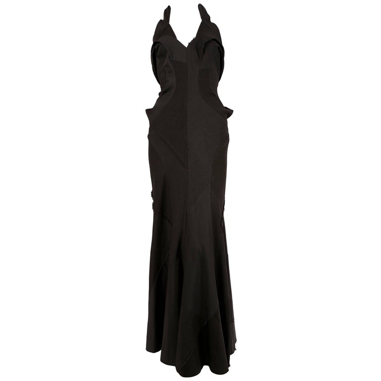 Junya Watanabe 1930's style bias-cut 'tattered' runway dress - fall 2002