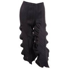 Issey Miyake Sculptural Pleated Pants