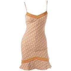 Christian Dior Rasta Monogram Dress
