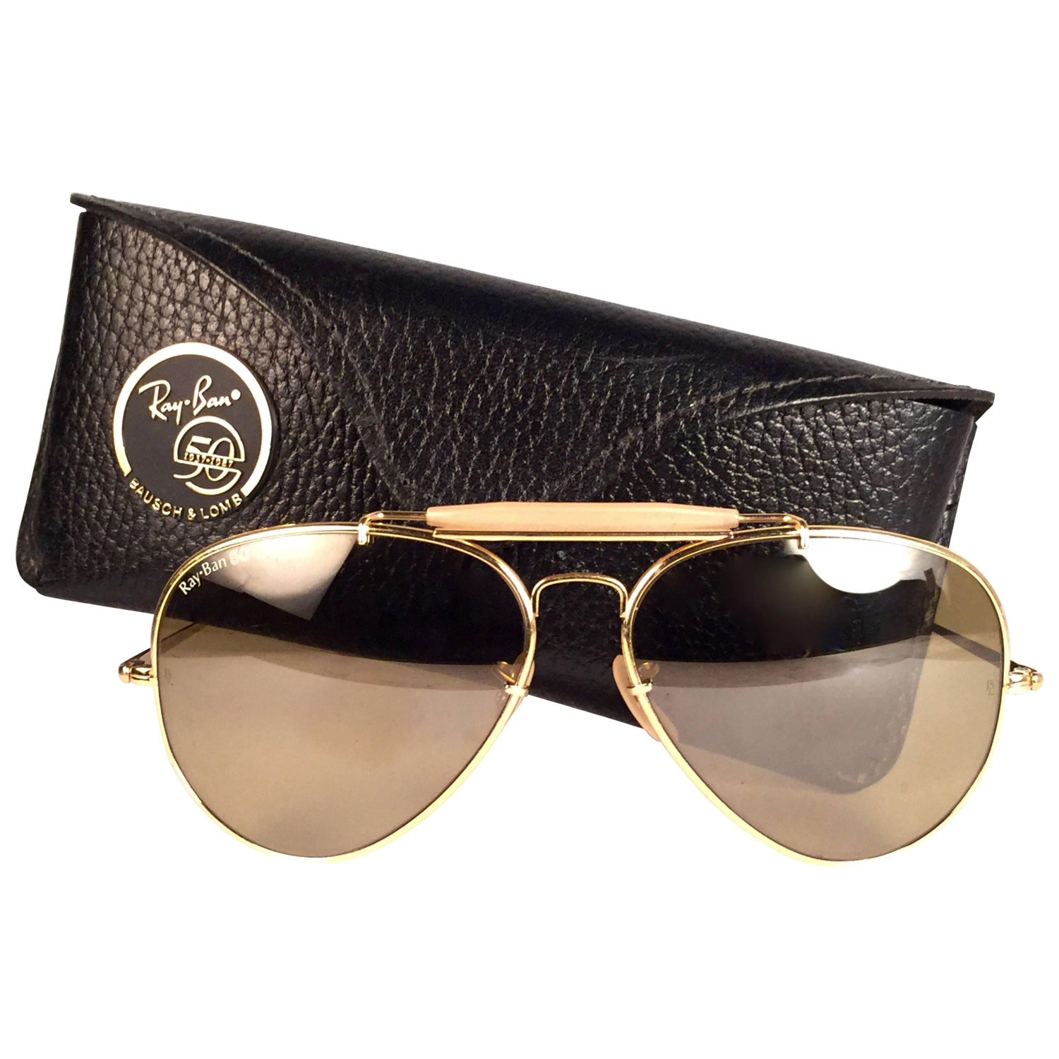 b1b0c489f89e Vintage Ray Ban The General 50 Collectors Item George Michael Faith Tour  62Mm US