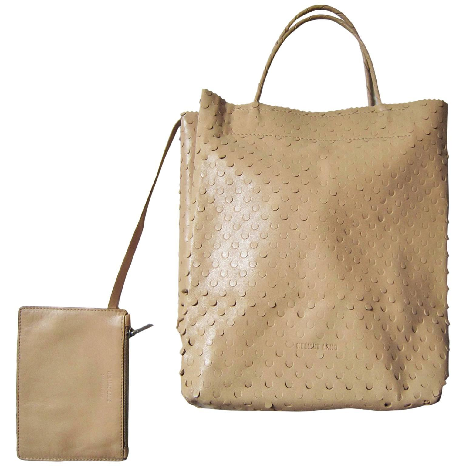 Helmut Lang Archive Beige Leather Bag A8nzJUf