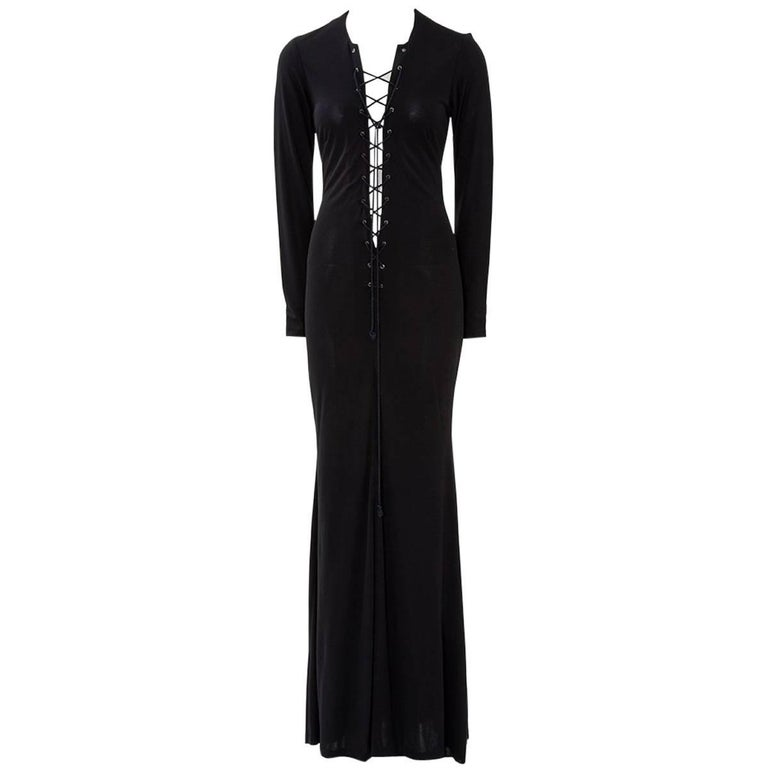 Yves Saint Laurent Saharienne Maxi Dress