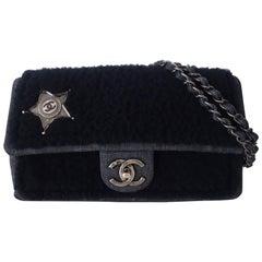 Chanel Timeless Bag Paris Dallas Sheep Wool Denim Star Limited Edition