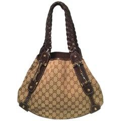 Gucci Brown Pelham Shoulder Bag Tote