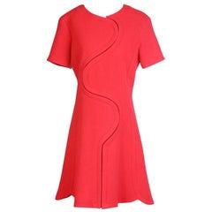 Raf Simons for Christian Dior Wool Dress