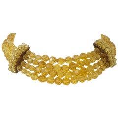 Yellow Crystal Necklace, Coppola e Toppo?