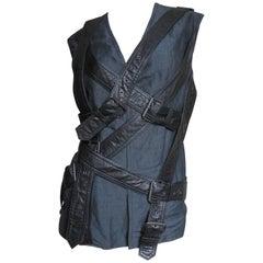 1990s Wrap Straps Vest