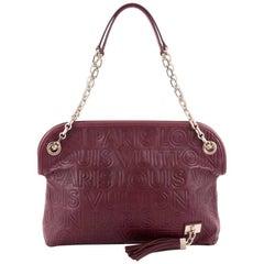 Louis Vuitton Limited Edition Paris Souple Wish Bag Leather
