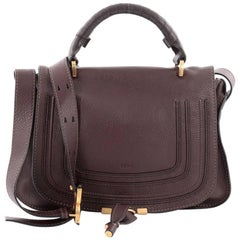 Chloe Marcie Top Handle Bag Leather Medium