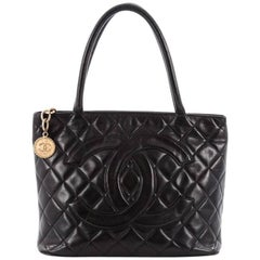 Chanel Medallion Tote Quilted Lambskin