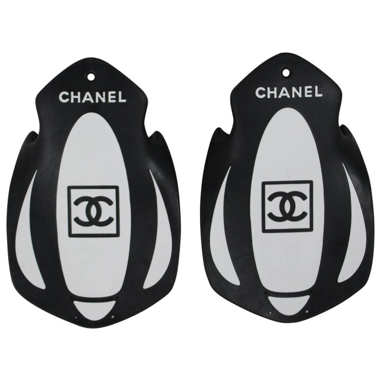 Rare Hard to find Chanel Swimming Fins from the Sport Line For Sale