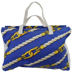Lovely hermes Cotton beach Bag