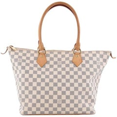 Louis Vuitton Saleya Handbag Damier MM