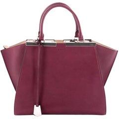 Fendi Petite 3Jours Handbag Leather