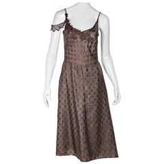 Tan Isabel Marant Polka Dot Dress