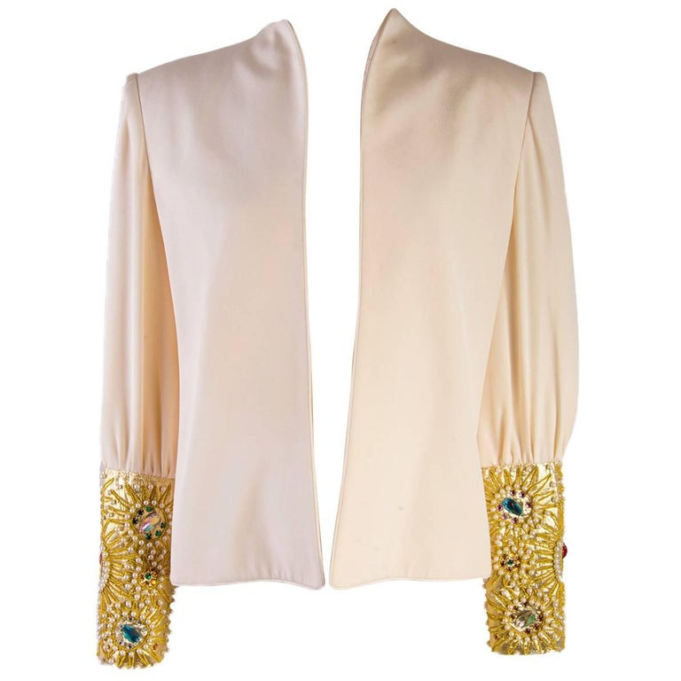 Fabulous David Hayes Runway Top - 1980's - Mint Condition