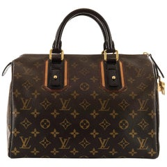 WOW Rare Limited Edition Louis Vuitton 'Sac Mirage' Speedy 30 Logo Handbag