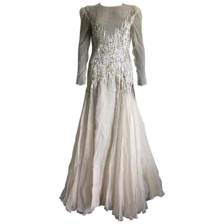 Haute couture dress circa 1960 39 s assigned to bernard for 1960 s haute couture