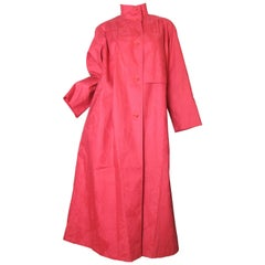 Bill Blass Red Coat