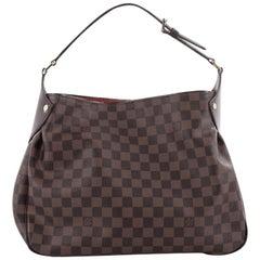 Louis Vuitton Reggia Handbag Damier