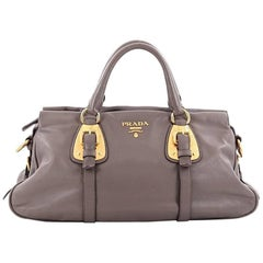 Prada Belted Satchel Soft Calfskin Medium